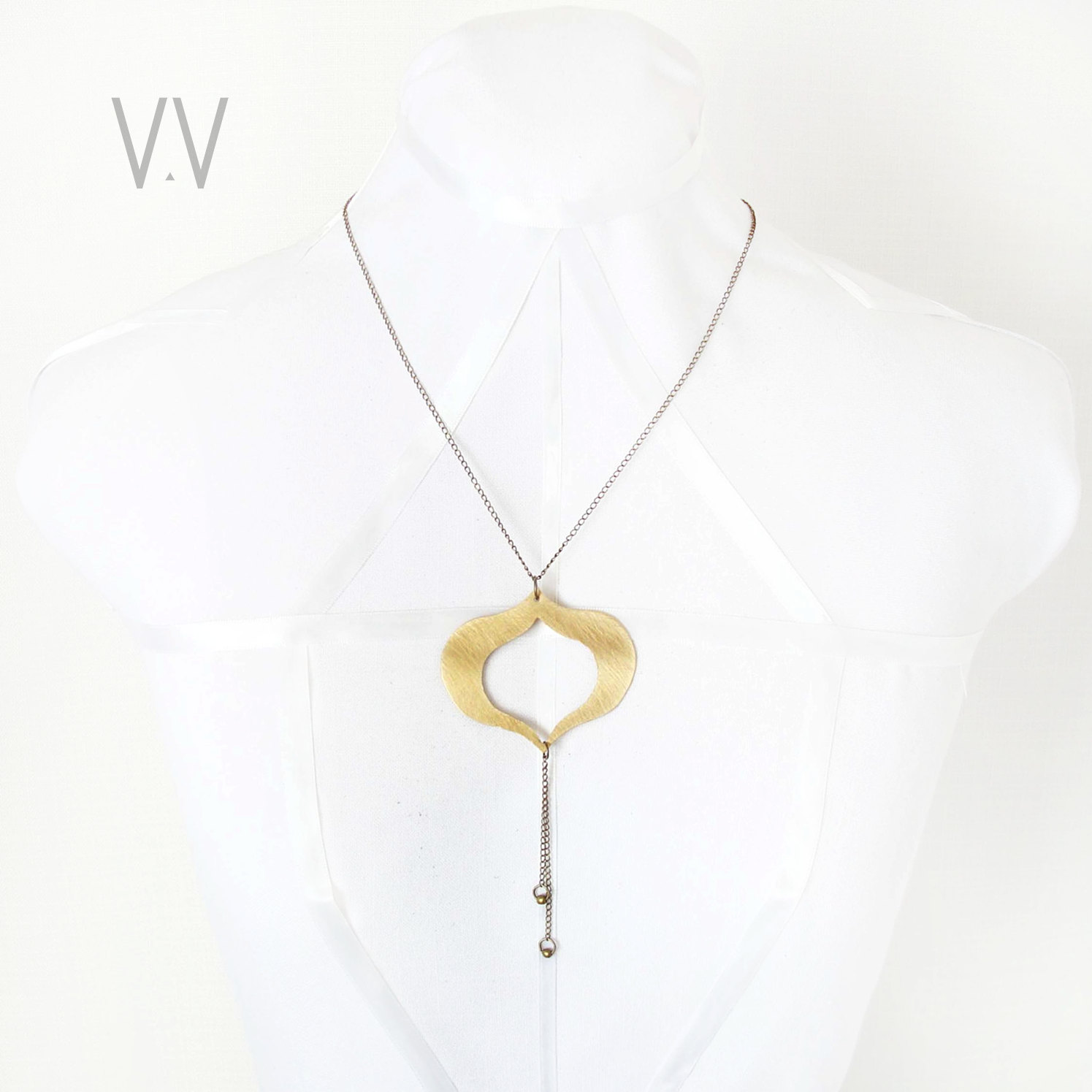 necklace jewels jewelry like simple geometric follow modern necklaces triangle look v circle charm echzya minimal statement detailed l